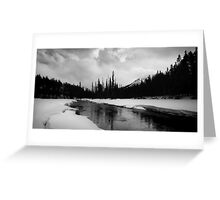 Bow River Greeting Card