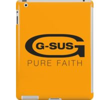 G-SUS pure faith iPad Case/Skin
