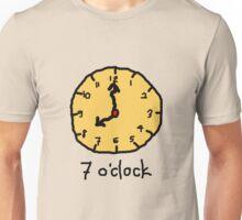 seven oclock Unisex T-Shirt