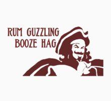 Rum Guzzling Booze Hag by ligortees
