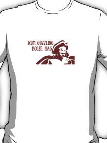Rum Guzzling Booze Hag T-Shirt