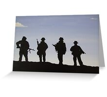Return to Base Greeting Card