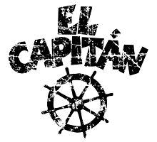 El Capitán Wheel Vintage (Black) by theshirtshops
