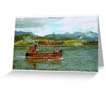 Colonsay in the Firth of Clyde Greeting Card