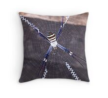St Andrews Cross Spider Throw Pillow
