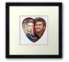Cuore David Tennant Framed Print
