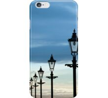 row of vintage lamps iPhone Case/Skin