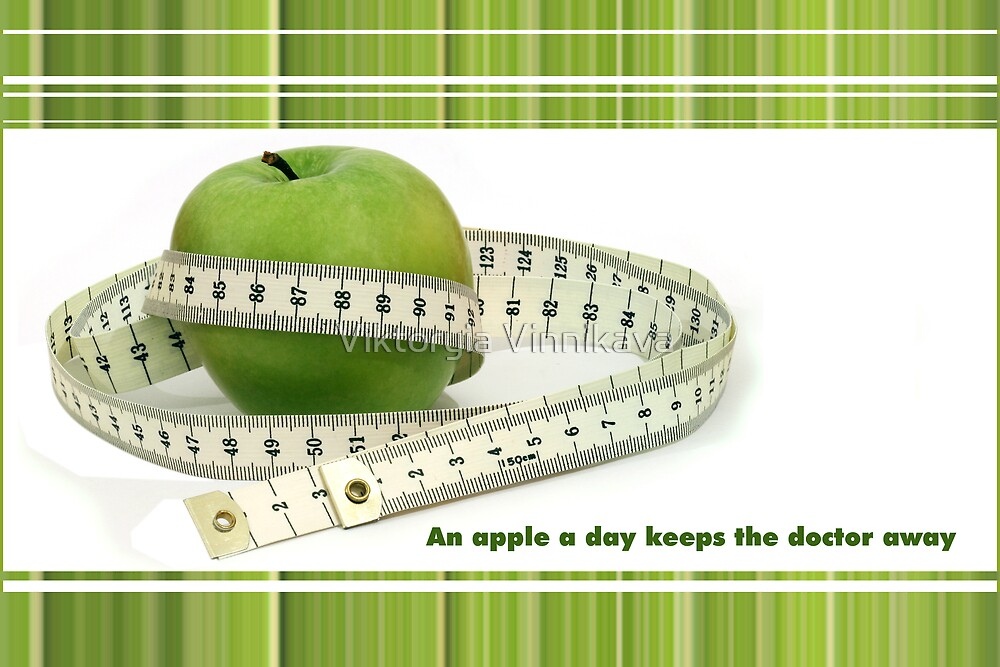 """An apple a day keeps the doctor away"""" by Freelancer 