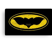Gotham Gremlin (distressed) Canvas Print