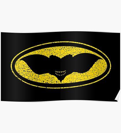 Gotham Gremlin (distressed) Poster