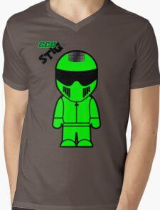 The Stig - Eco Stig (Janet Stig-Porter) Mens V-Neck T-Shirt