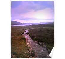 A view on Skye Poster