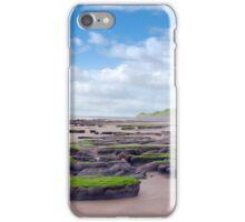slimey green mud banks at Beal beach iPhone Case/Skin