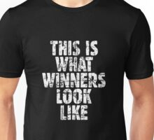 THIS IS WHAT WINNERS LOOK LIKE (Vintage White) Unisex T-Shirt