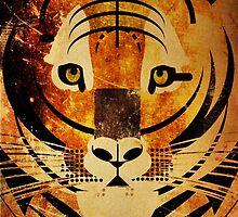 Tiger Digital Illustration by FUNCTIONALFOX
