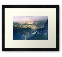 Somewhere in Middle-earth Framed Print