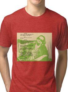 his dudeness Tri-blend T-Shirt