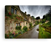 Arlington Row, Cotswalds Canvas Print
