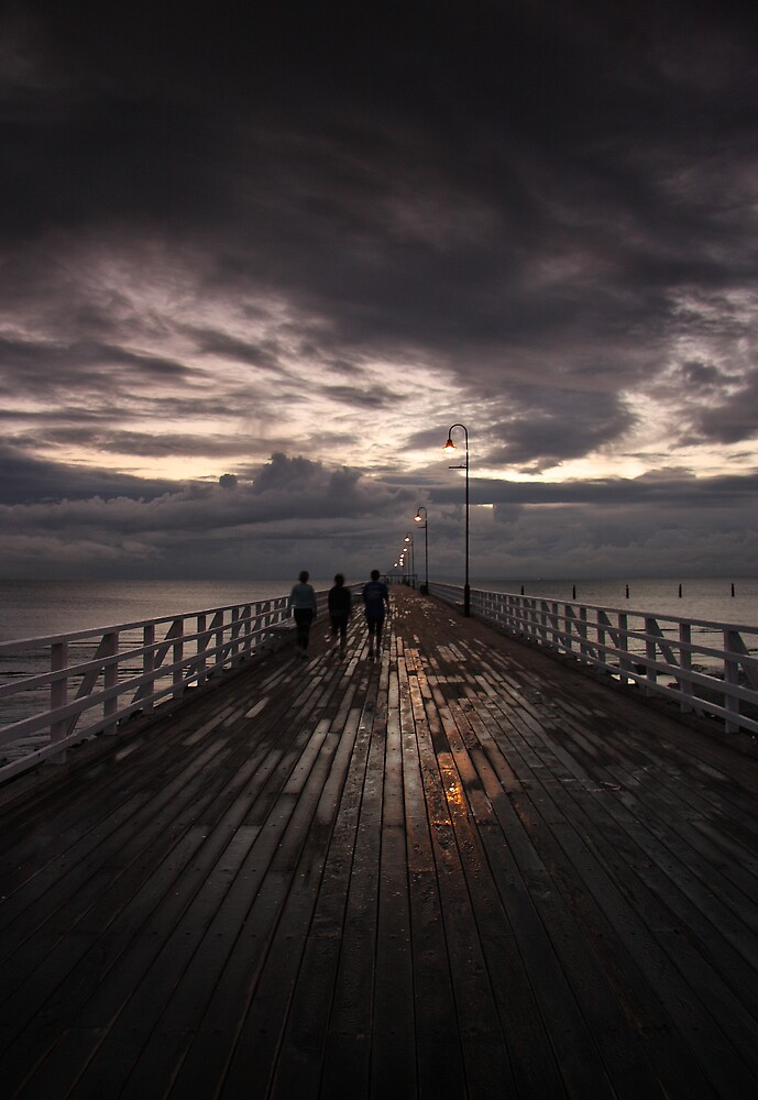 Shorncliffe Pier  by David James