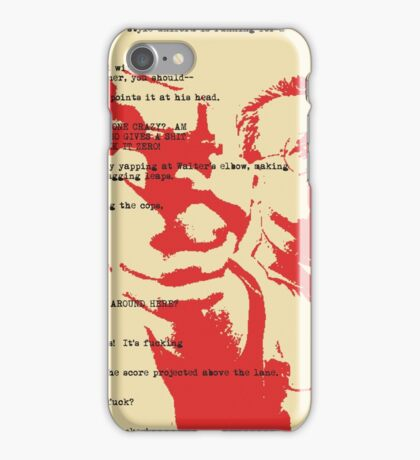 Calmer Than You Are iPhone Case/Skin