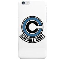 Capsule Corp Logo iPhone Case/Skin