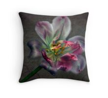 Tulipa laureola Throw Pillow