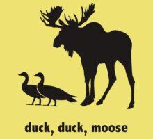 Duck Duck Moose One Piece - Short Sleeve