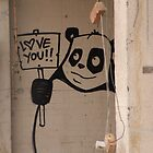 Inner city Panda Bear by kitza