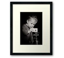 Concentration Framed Print