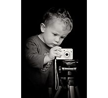 Concentration Photographic Print