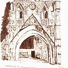 The Gatehouse to Kirkham Priory by GEORGE SANDERSON