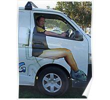 Local Plumbers Van Poster