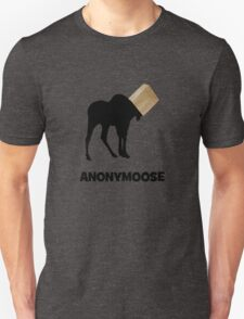 Anonymoose the Anonymous Moose T-Shirt