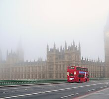 Red London Bus by snapperjack