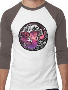 Tribal Mew Men's Baseball ¾ T-Shirt