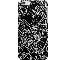 The Plant (black) iPhone Case/Skin