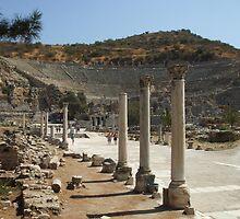 Amphi Theatre at Ephesus by kimie