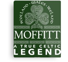 Cool 'Moffitt, A True Celtic Legend' Last Name TShirt, Accessories and Gifts Metal Print