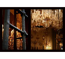 Chandelier Shop, Florence Photographic Print
