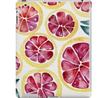 Sliced Grapefruits Watercolor iPad Case/Skin