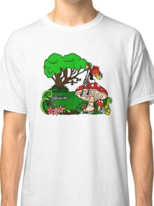 Magical Forest with Faerie Classic T-Shirt