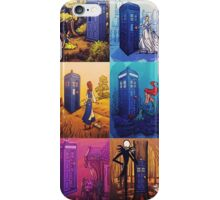 All Disney Tardis iPhone Case/Skin