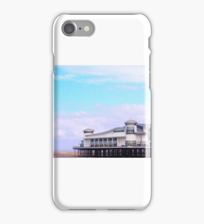 Tranquil British Beach & Pier iPhone Case/Skin