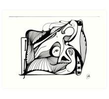 Abstract Moments 30 Art Print