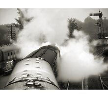 Wings of steam Photographic Print