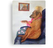 TV Buddy Canvas Print