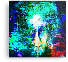 """"""" The voice  is a second face"""" Metal Print"""