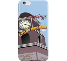 Once Upon a Time - Greetings from Storybrooke iPhone Case/Skin