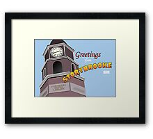 Once Upon a Time - Greetings from Storybrooke Framed Print