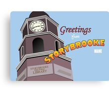 Once Upon a Time - Greetings from Storybrooke Canvas Print